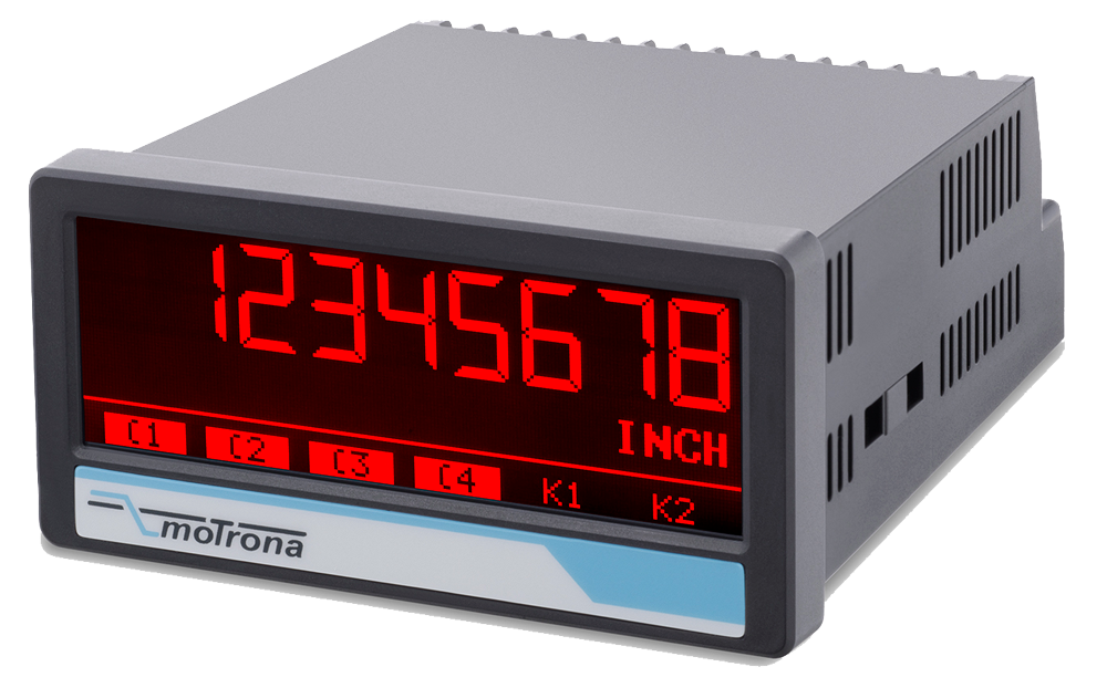 AX350 touchMATRIX Process indicator (analoge input)