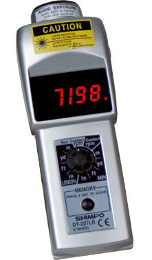 DT-207LR-S12 Tachometer