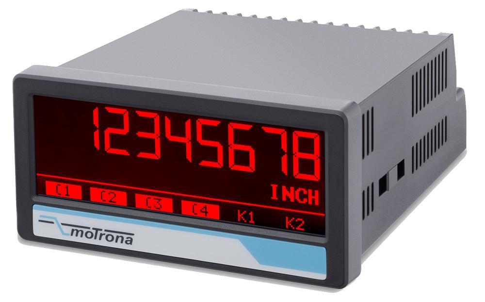 DX350  touchMATRIX Digital process Indicator (HTL-input)