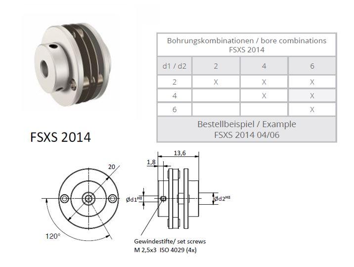 FSXS 2014 Veerschijfkoppeling