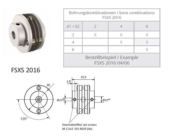 FSXS 2016 Veerschijfkoppeling