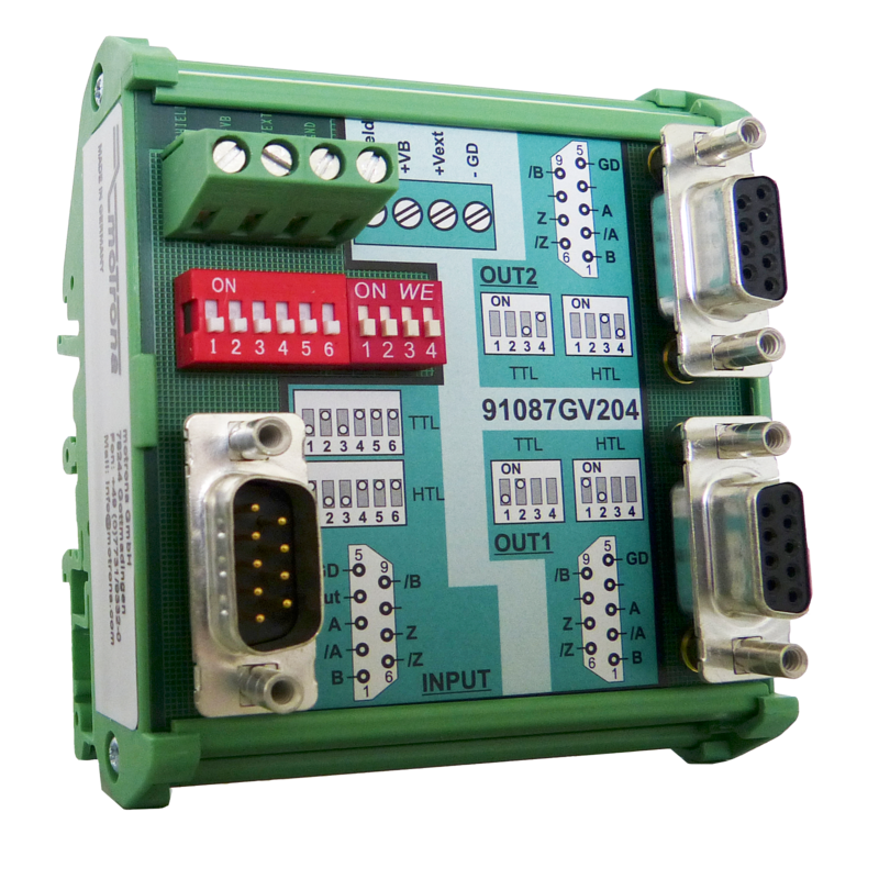 GV204 Impulse amplifier & level splitter