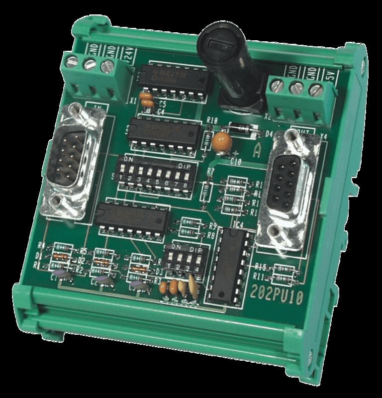 PU204 Level converter TTL/RSS422 naar HTL